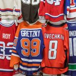 View hundreds of game worn autographed jerseys.