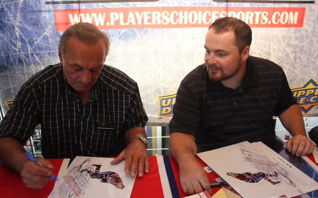 Guy Lafleur signing event at Players Choice!