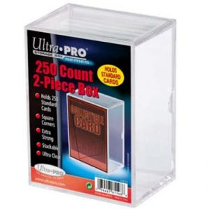 ULTRA PRO 250 COUNT 2 PIECE STORAGE BOX