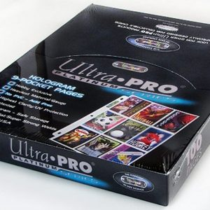 ULTRA PRO 9 POCKET BINDER PAGES – 100CT