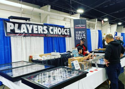 toronto vew of players choice trade show booth