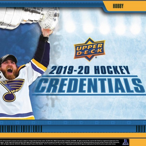 Brand new product NHL Credentials arriving soon!