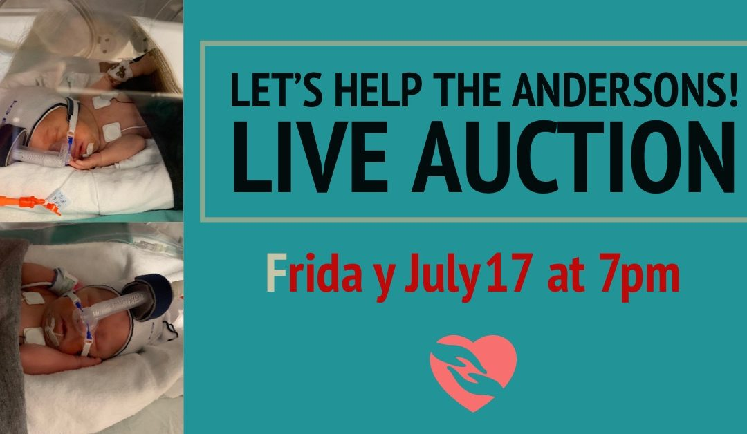 Let's Help the Andersons! LIVE Auction