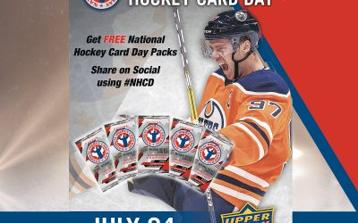 National Hockey Card Day in July!